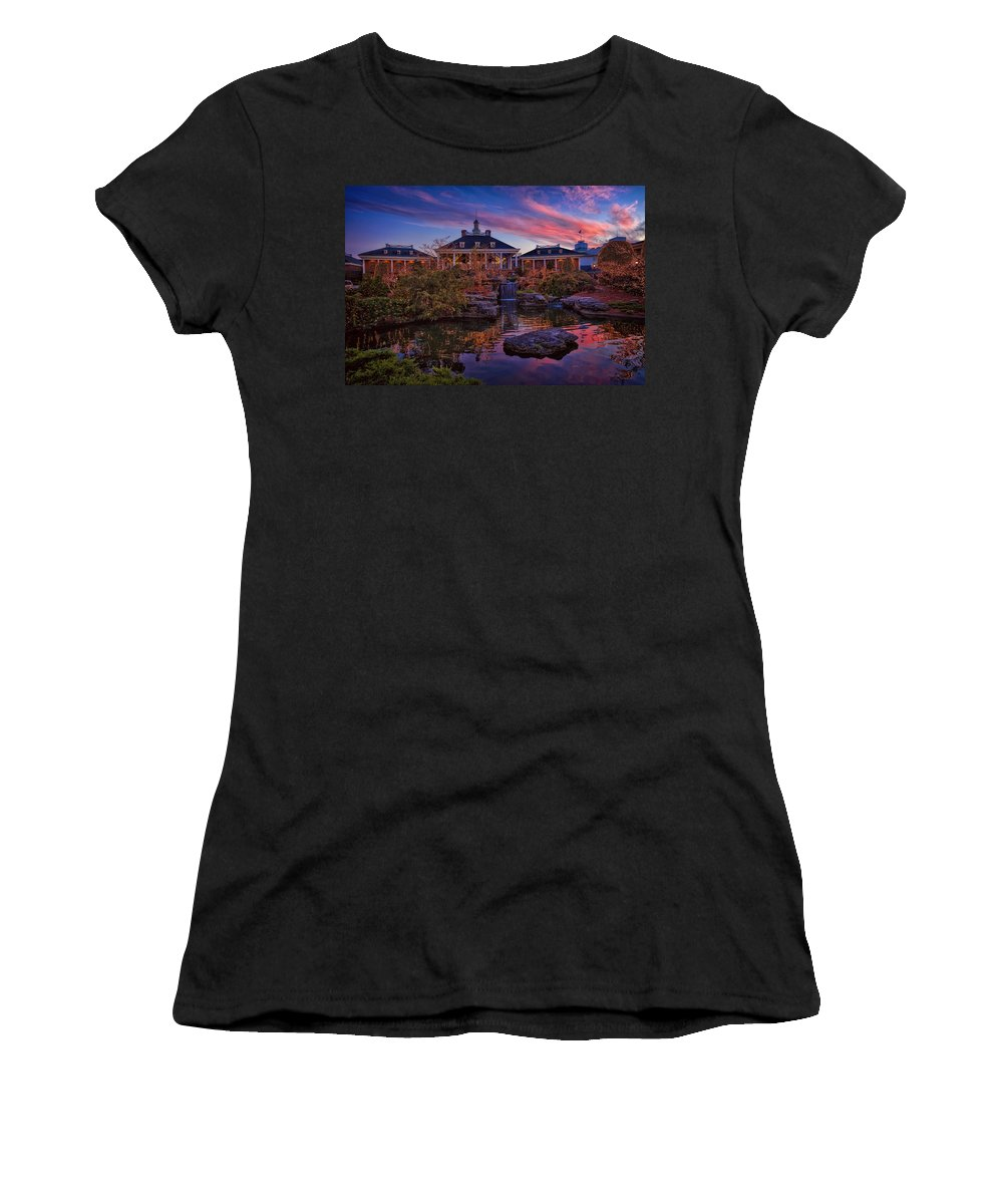 Gaylord Women's T-Shirt featuring the photograph Opryland Hotel by Diana Powell