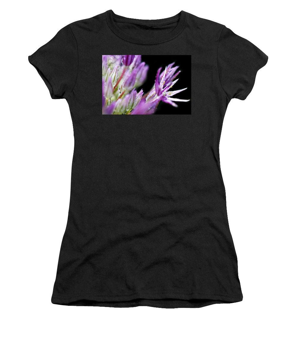 Reach Women's T-Shirt (Athletic Fit) featuring the photograph Outstretched by Lisa Knechtel