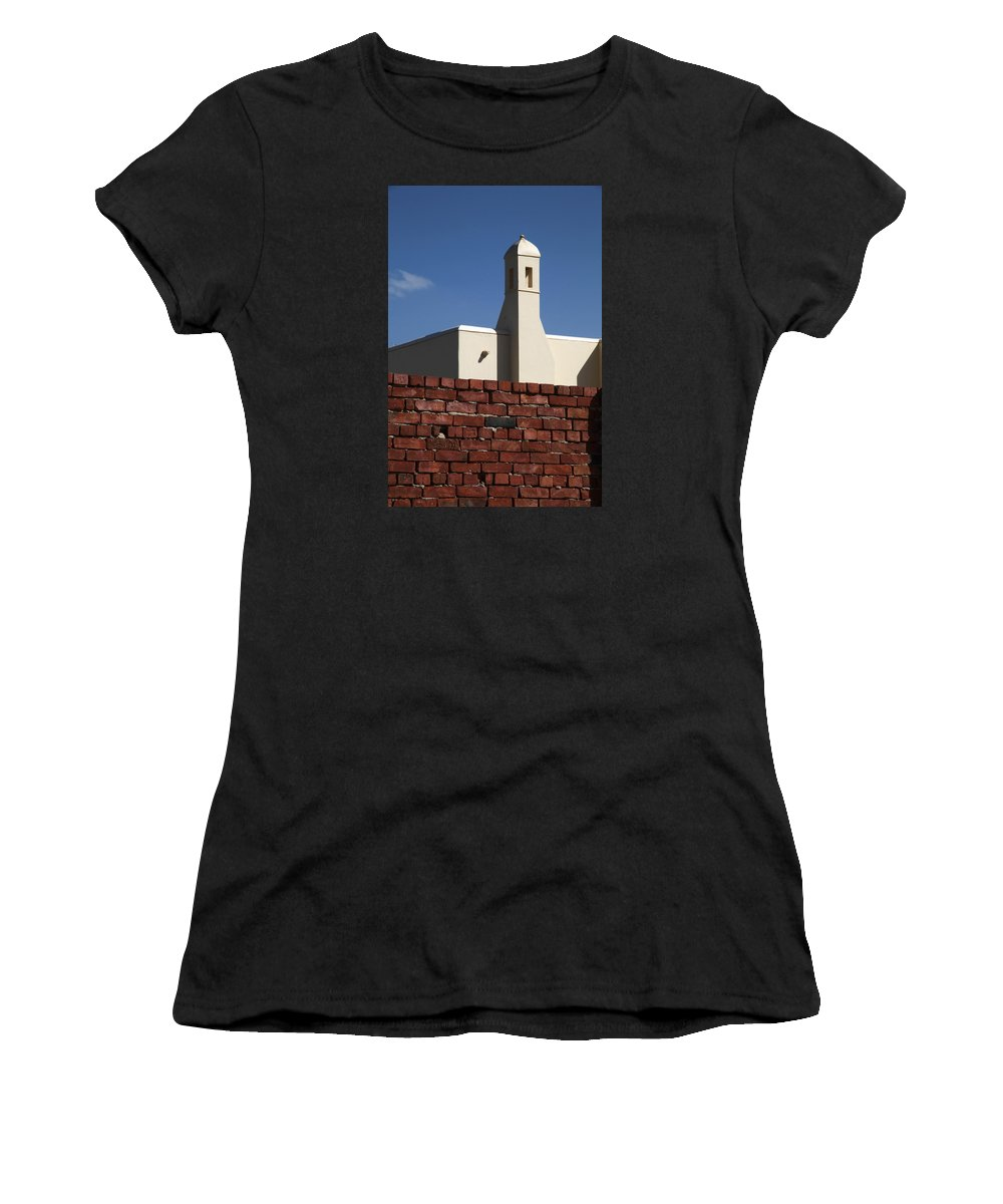 Al-ahyaa Women's T-Shirt (Athletic Fit) featuring the photograph Owngamma by Jez C Self