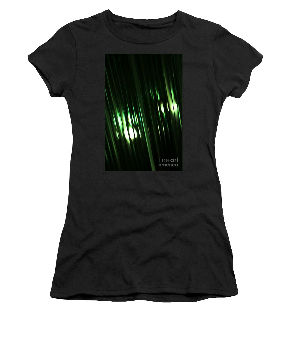 Glass Women's T-Shirt (Athletic Fit) featuring the photograph Oz by Linda Shafer