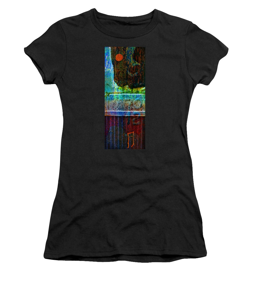 Pi Women's T-Shirt (Athletic Fit) featuring the photograph piNsky by Skip Hunt
