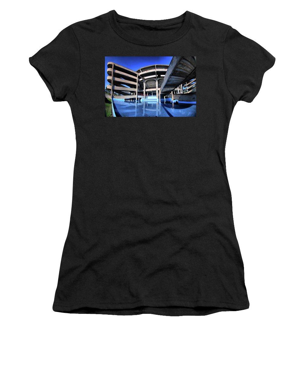 Women's T-Shirt (Athletic Fit) featuring the photograph Plaza De Toros by Galeria Trompiz