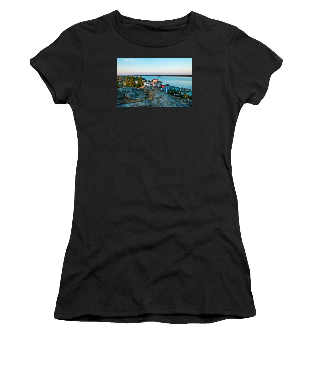 City Women's T-Shirt featuring the photograph Point Of View by Lisa Killins