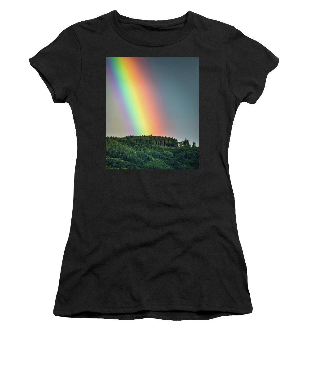 France Women's T-Shirt (Athletic Fit) featuring the photograph Pot Of Gold by Laurent Fox