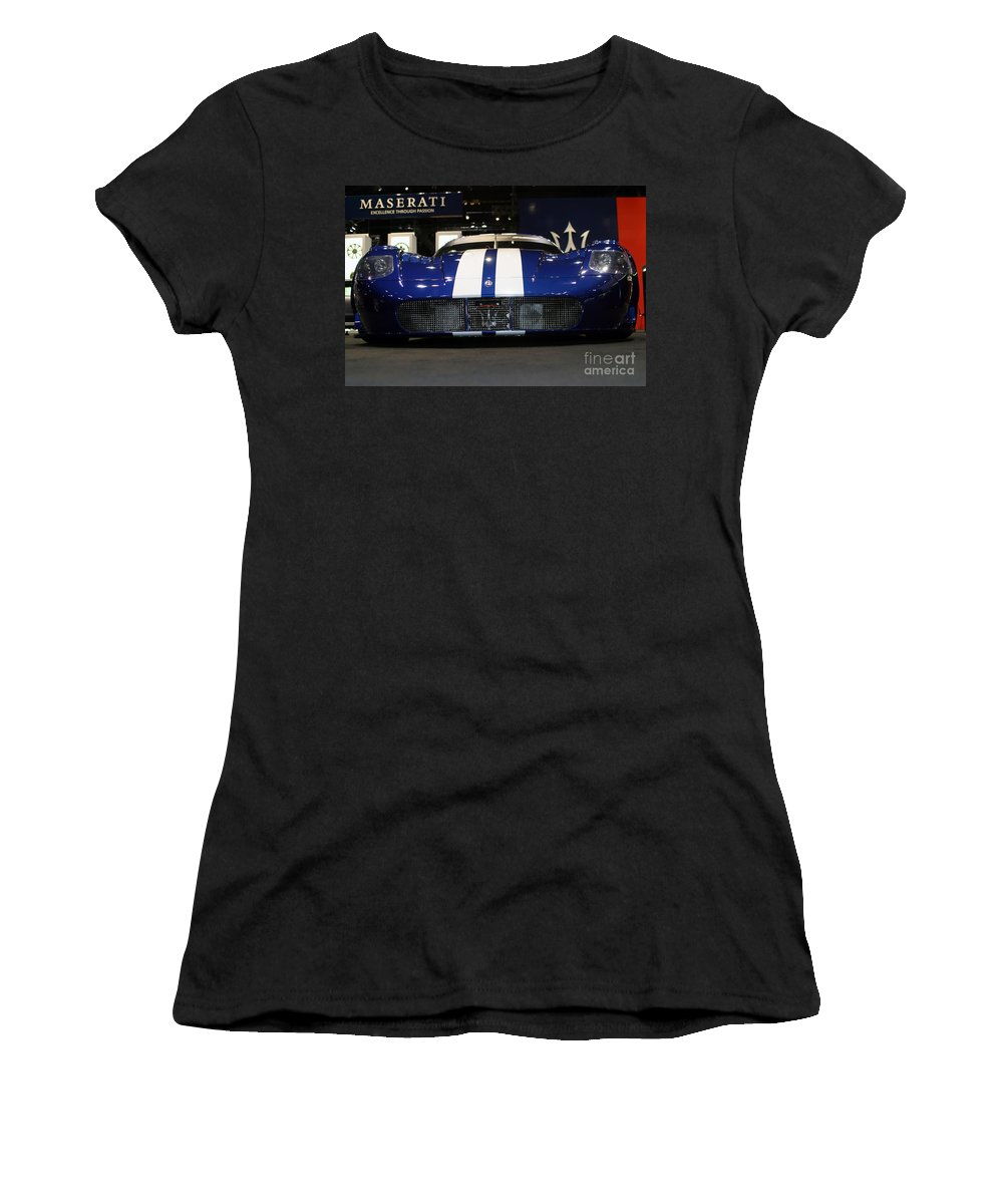 Aluminum Women's T-Shirt featuring the photograph Pretty Quick by Alan Look