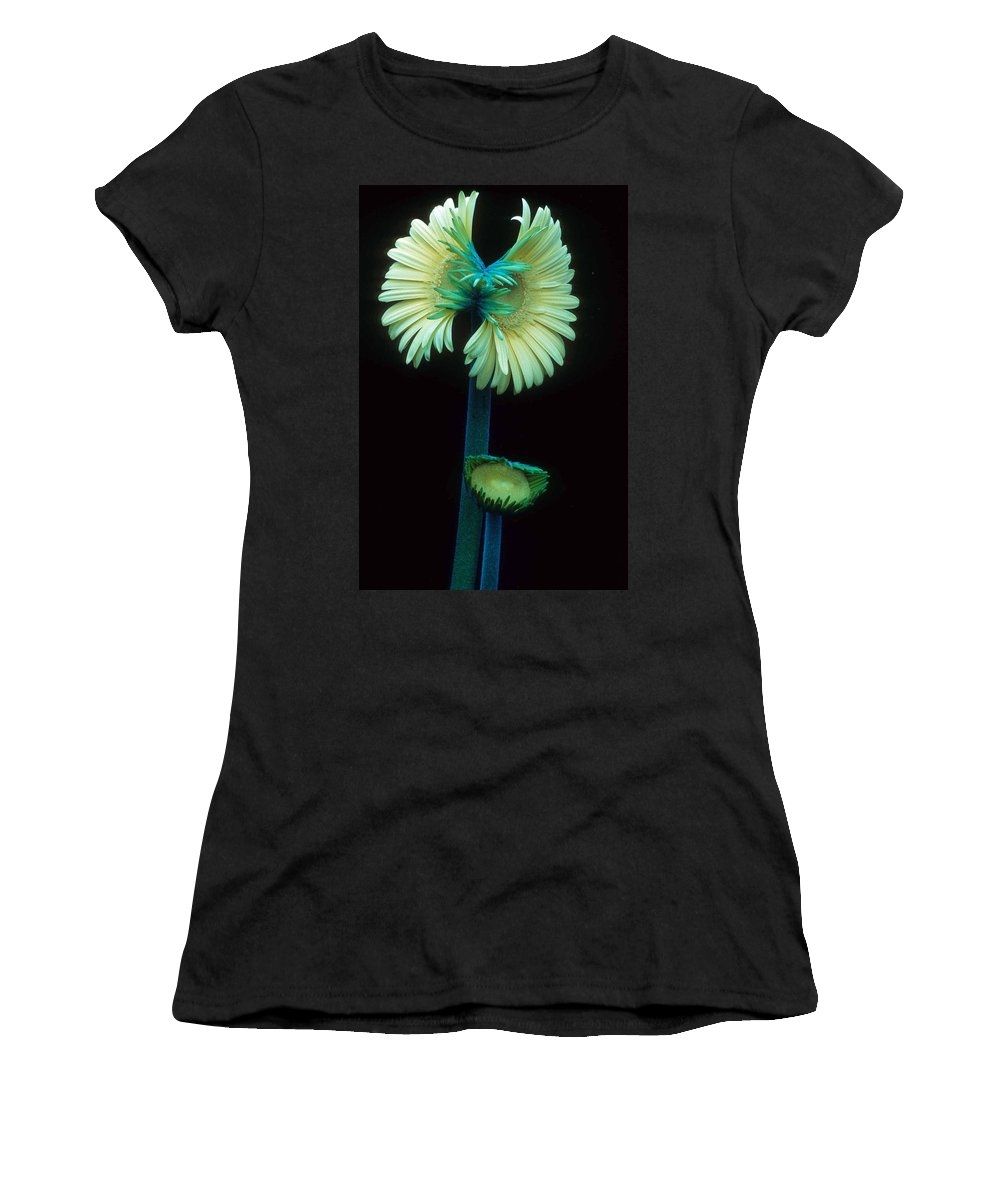 Gerber Women's T-Shirt (Athletic Fit) featuring the photograph Proud Gerber Parents by Laurie Paci