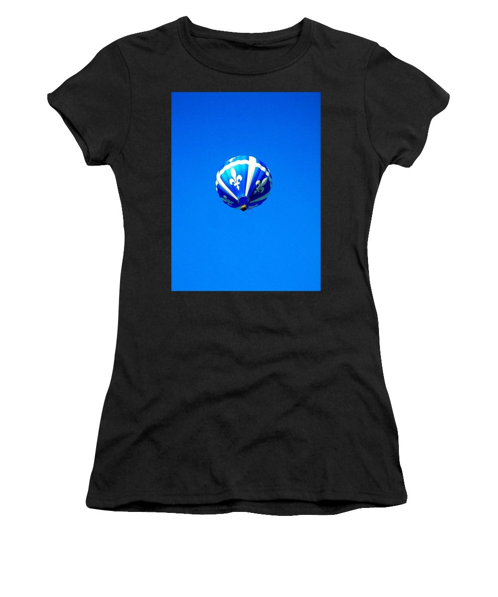 Hot Women's T-Shirt (Athletic Fit) featuring the photograph Quebec ... by Juergen Weiss
