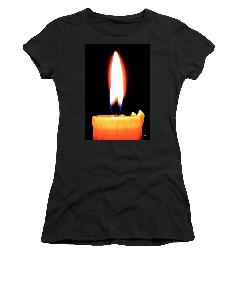 Radiance Women's T-Shirt (Athletic Fit) featuring the photograph Radiance by Will Borden