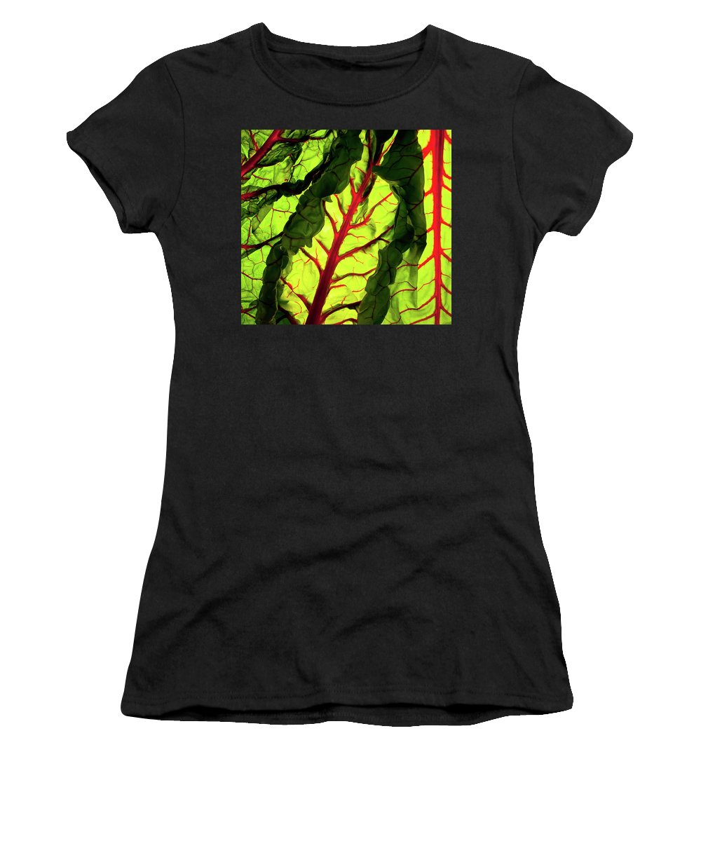 Red Women's T-Shirt featuring the photograph Red River by Bobby Villapando