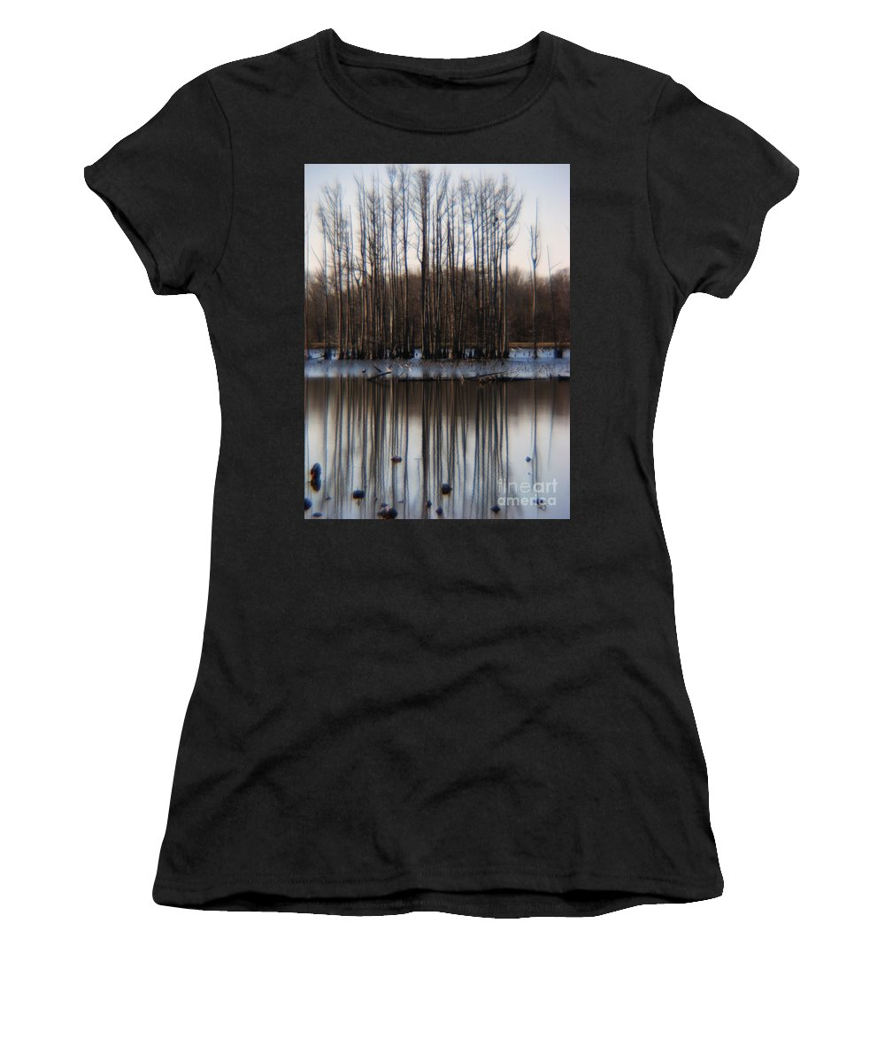 Nature Women's T-Shirt featuring the photograph Reflection by Amanda Barcon