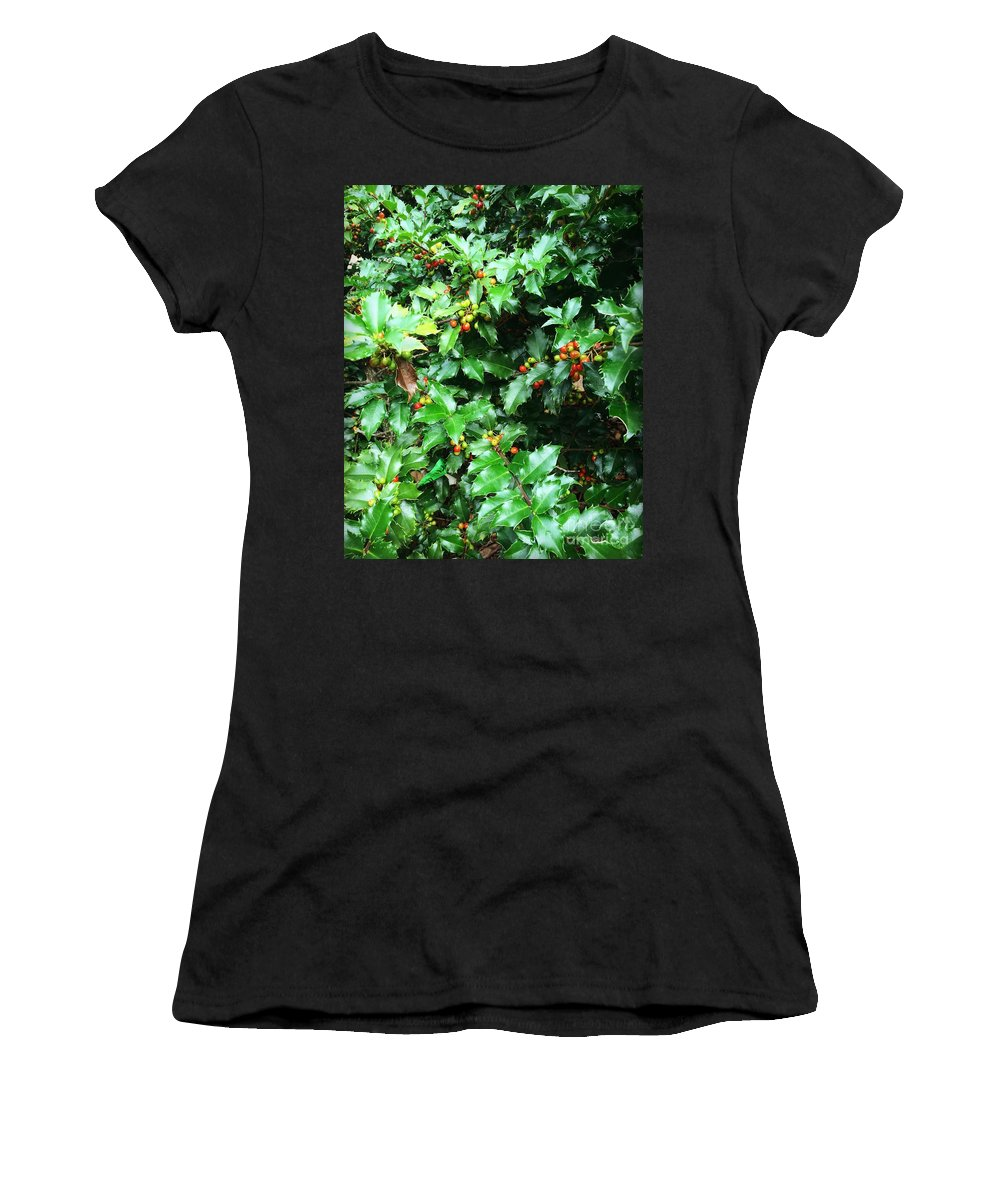 Leaves Women's T-Shirt featuring the photograph Refreshing Green by Anh Nguyen