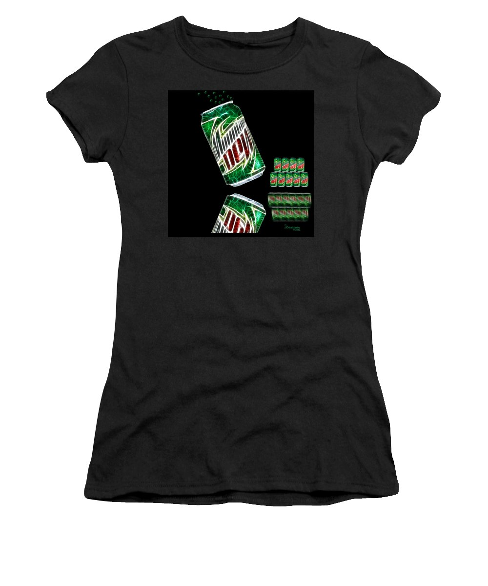 Soda Women's T-Shirt (Athletic Fit) featuring the photograph Refreshing by Ericamaxine Price