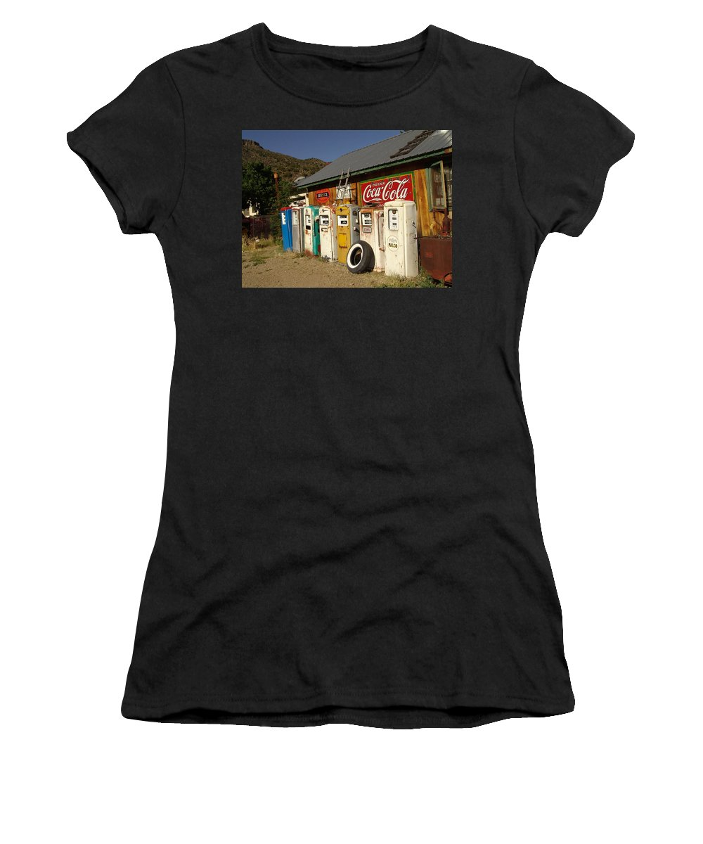 Auto Women's T-Shirt (Athletic Fit) featuring the photograph Remember When by Carol Milisen