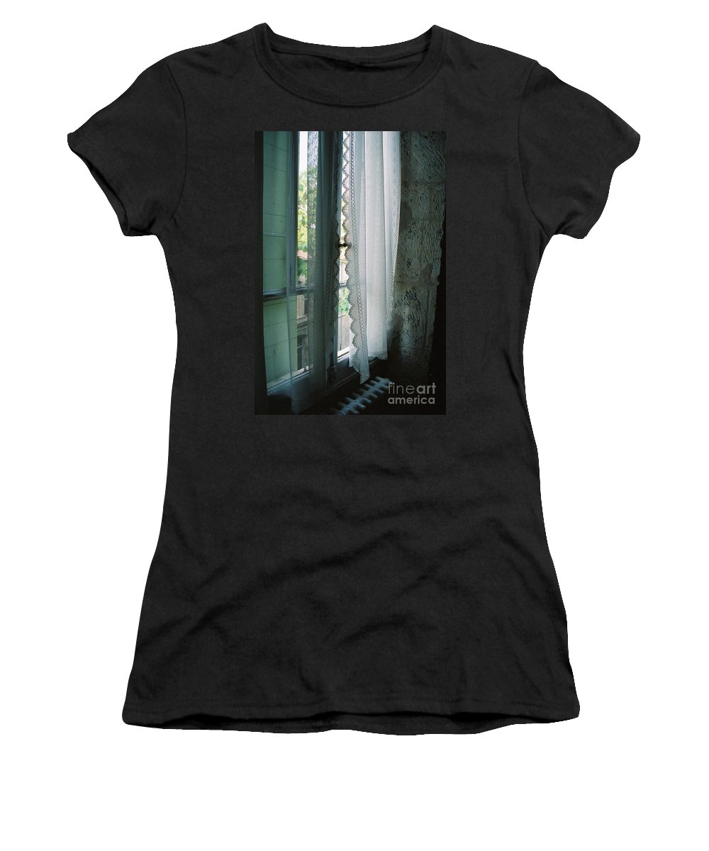 Arles Women's T-Shirt (Athletic Fit) featuring the photograph Rest by Nadine Rippelmeyer