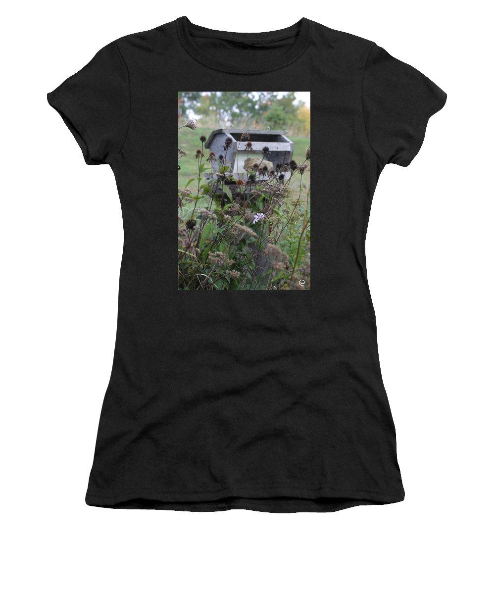Retreat Women's T-Shirt featuring the photograph Retreat by Bjorn Sjogren
