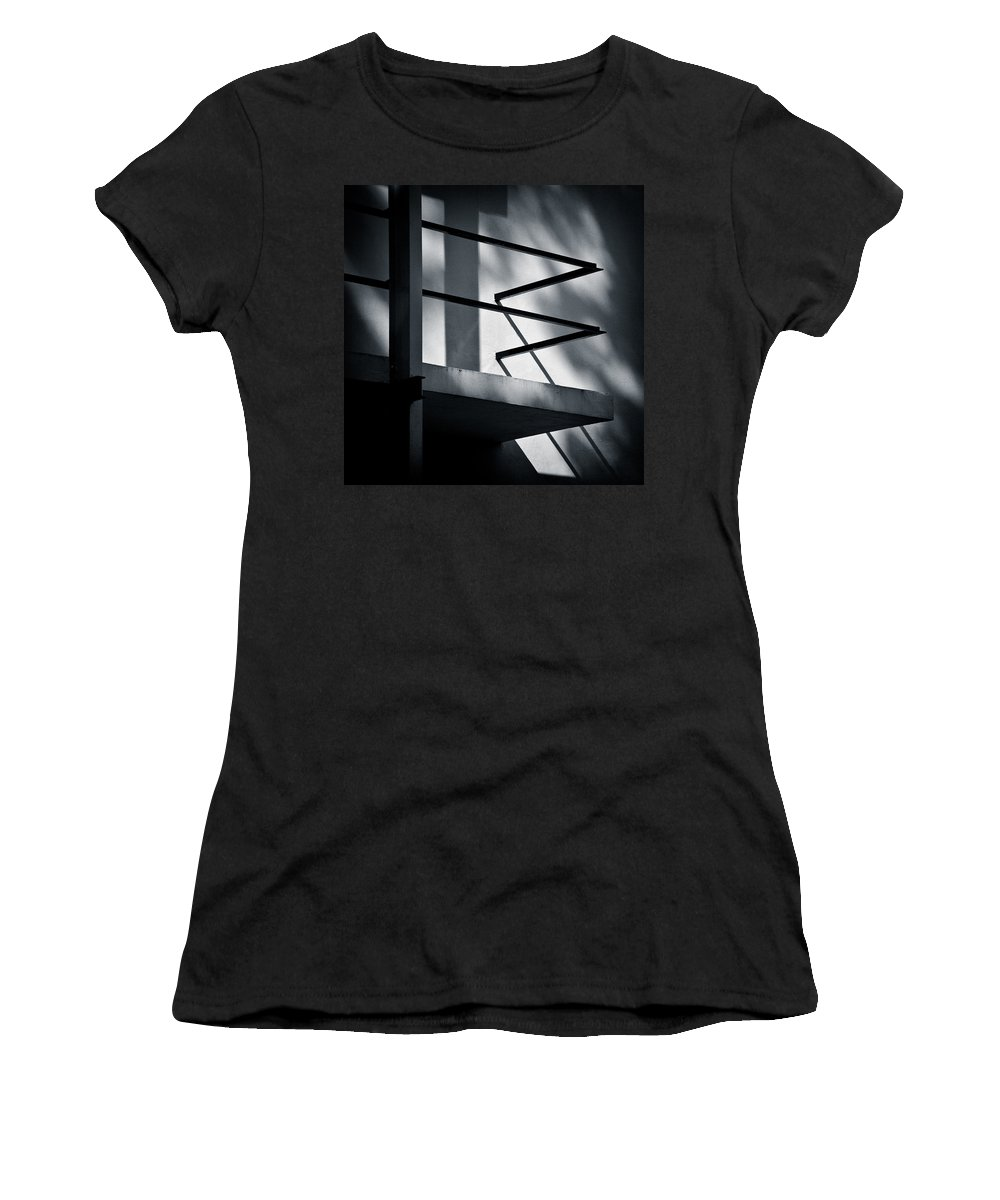 Rietveld Schroderhuis Women's T-Shirt (Athletic Fit) featuring the photograph Rietveld Schroderhuis by Dave Bowman