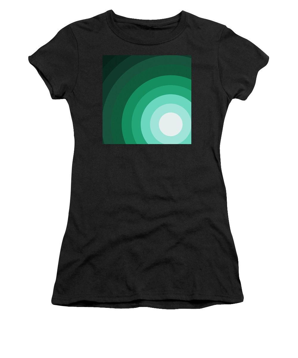 Surreal Women's T-Shirt (Athletic Fit) featuring the painting Rist Action by Oliver Johnston