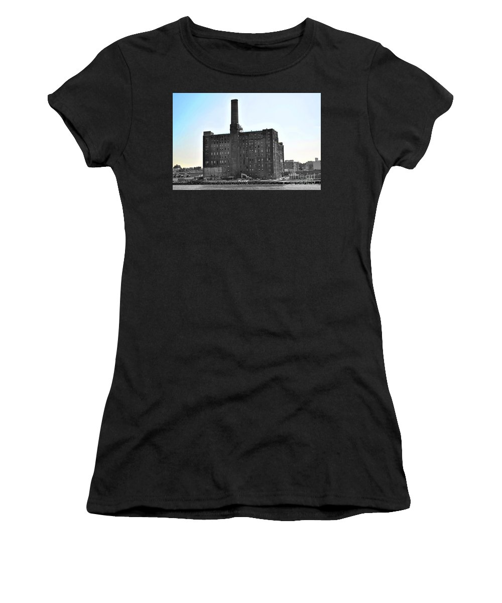 New Women's T-Shirt featuring the photograph River Factory by Jost Houk
