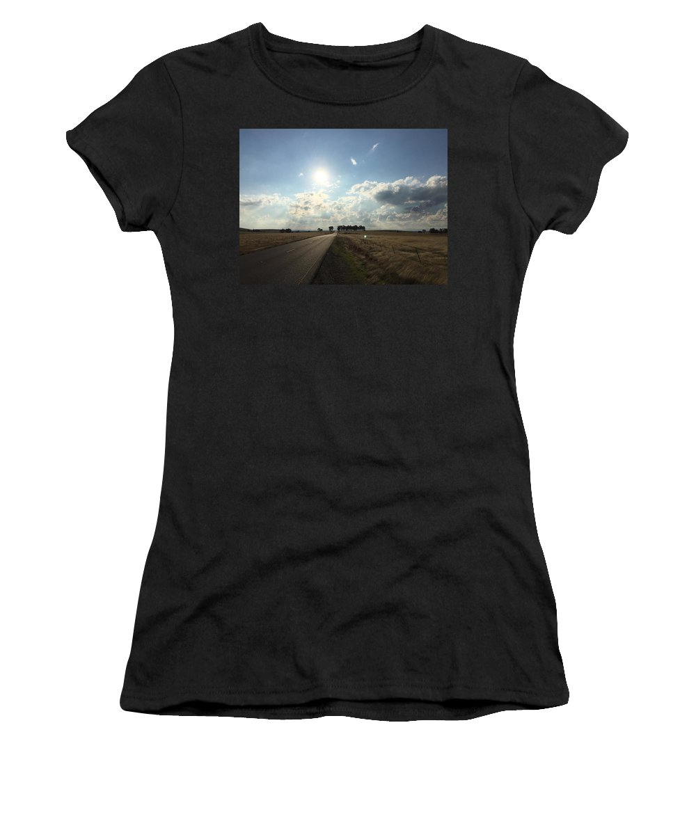 California Women's T-Shirt (Athletic Fit) featuring the photograph Road Trip by Dani Keating