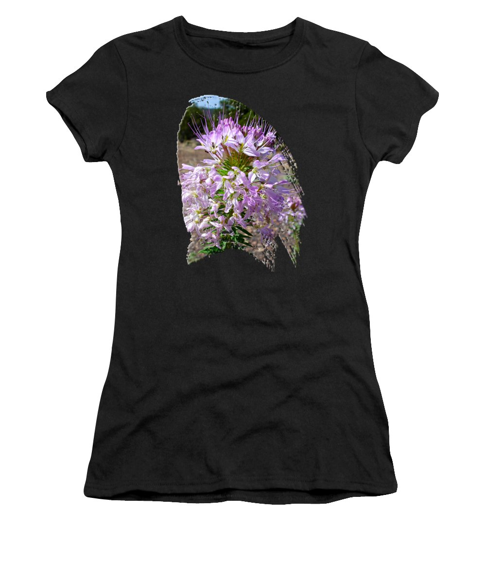 Wildflower Women's T-Shirt featuring the photograph Rocky Mountain Bee Flower by Jim Thomas