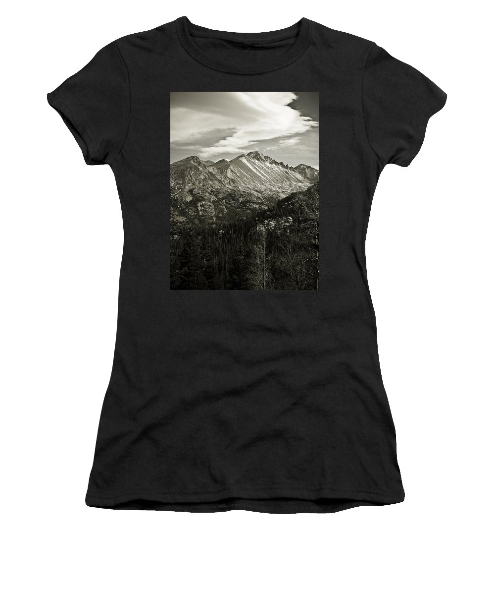 Colorado Women's T-Shirt (Athletic Fit) featuring the photograph Rocky Mountain Wonders by Marilyn Hunt