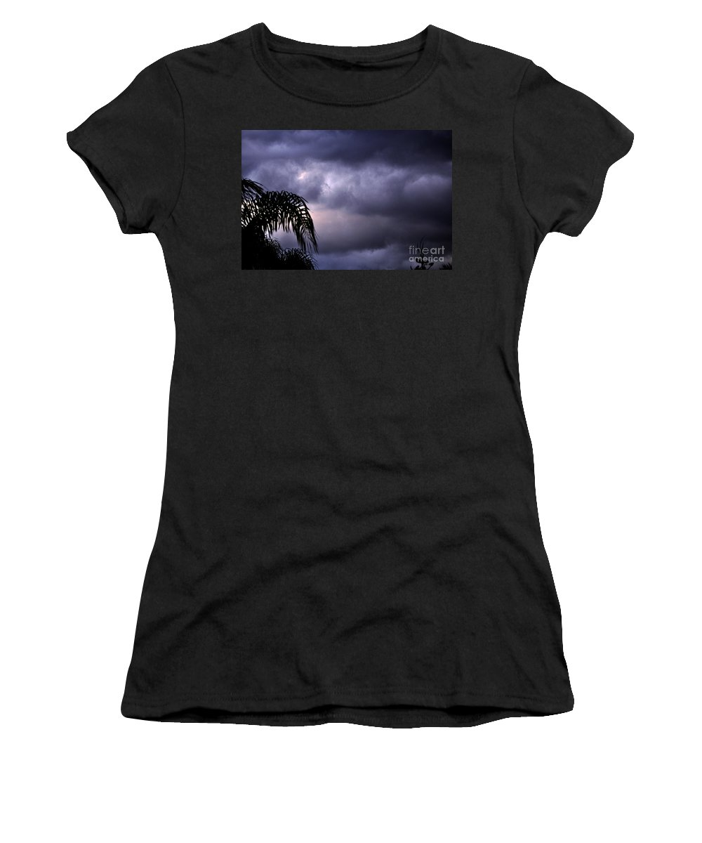 Clay Women's T-Shirt (Athletic Fit) featuring the photograph Rolling In . . . by Clayton Bruster