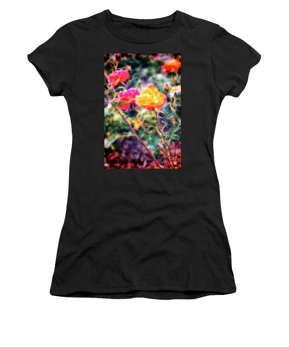 Roses Women's T-Shirt featuring the photograph Rose Sweet by Davy Cheng