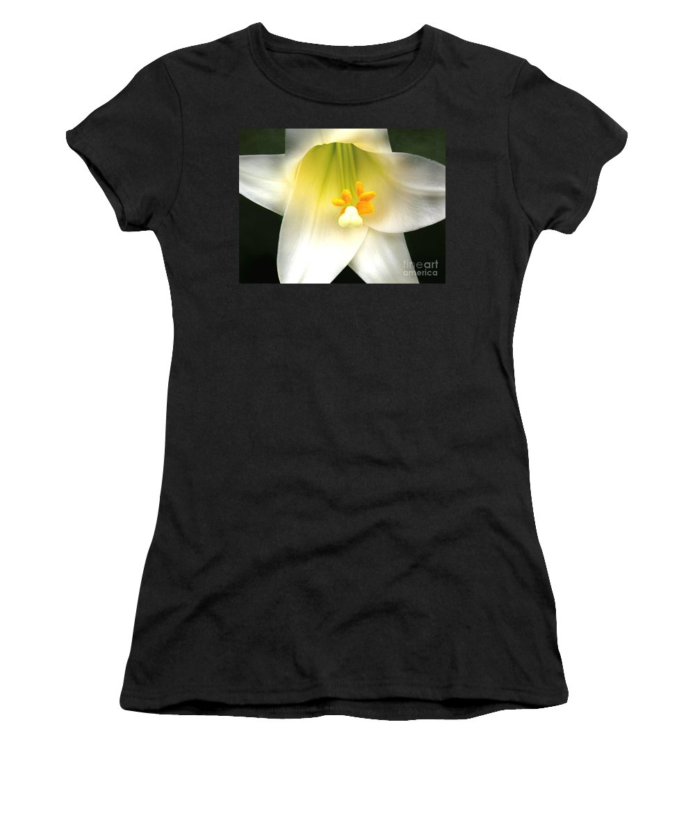 Royal Telephone Women's T-Shirt featuring the photograph Royal Telephone by Anita Faye
