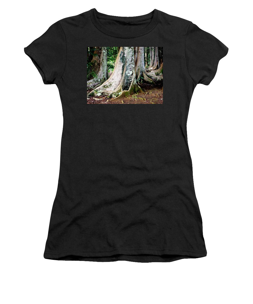 Rudraksha Women's T-Shirt featuring the photograph Rudraksha 1 by Mary Deal