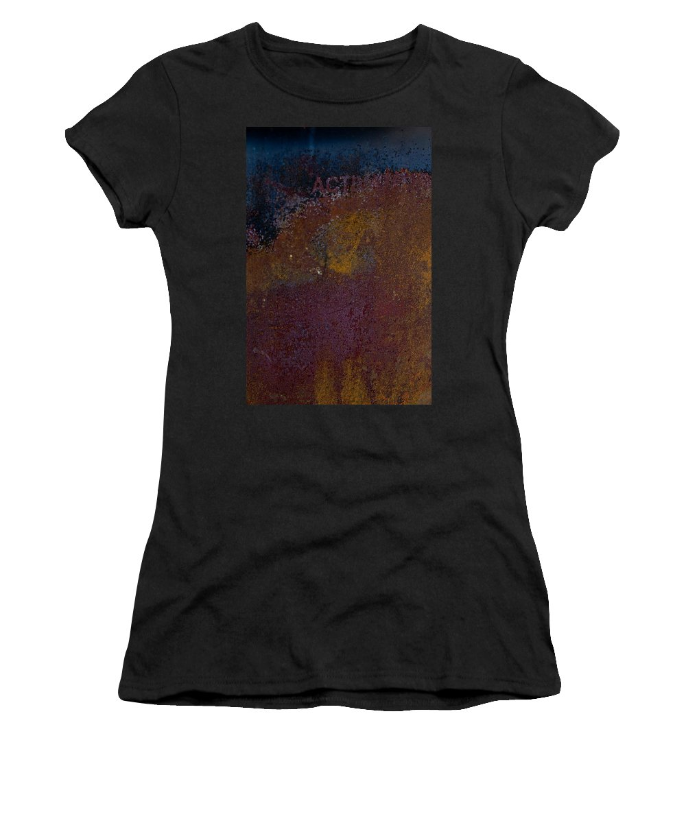 Rust Women's T-Shirt (Athletic Fit) featuring the photograph Rusted by Hannah Breidenbach