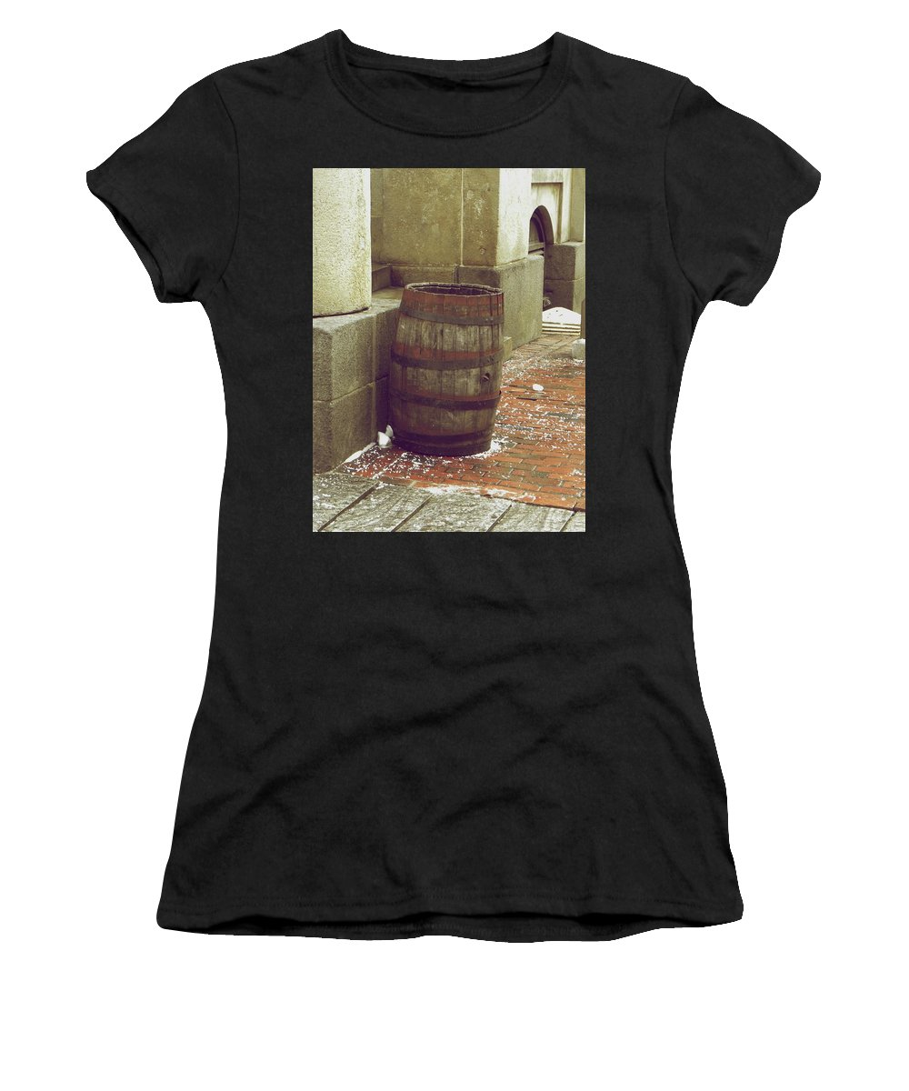 Boston Women's T-Shirt (Athletic Fit) featuring the photograph Rusted by Shannon Turek