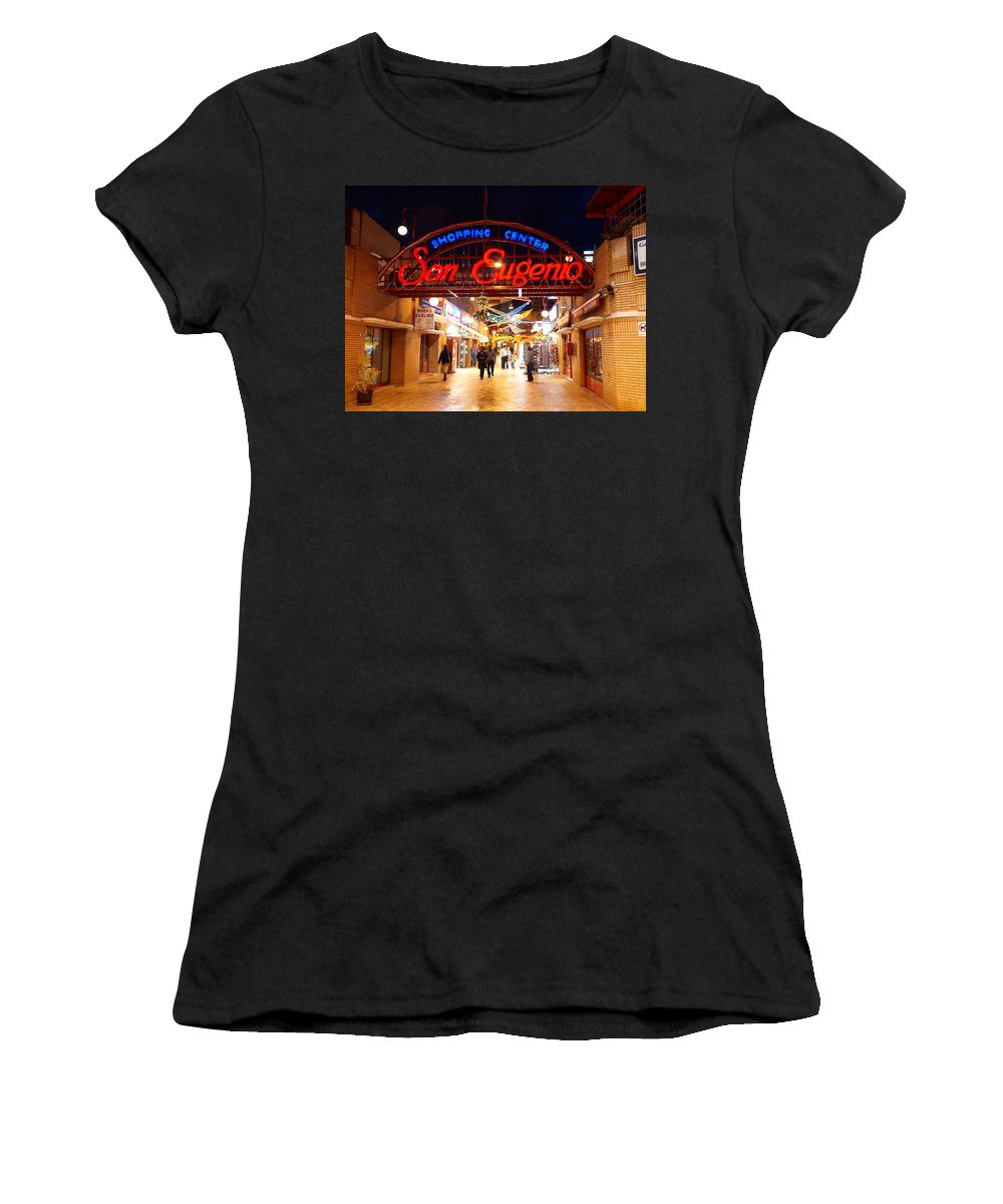 Spain Women's T-Shirt (Athletic Fit) featuring the photograph San Eugenio 1 by Jouko Lehto