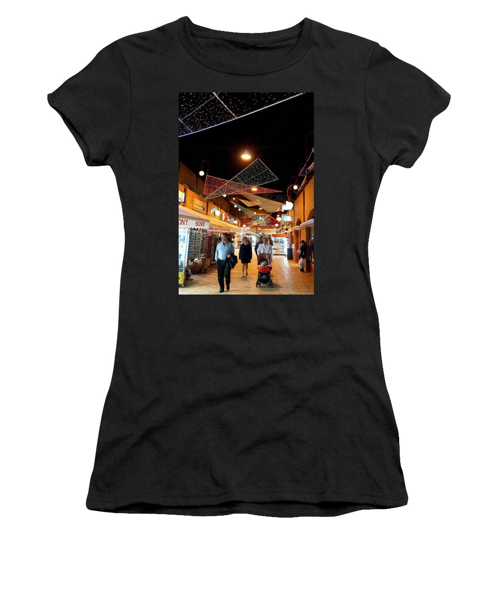 Spain Women's T-Shirt (Athletic Fit) featuring the photograph San Eugenio 2 by Jouko Lehto
