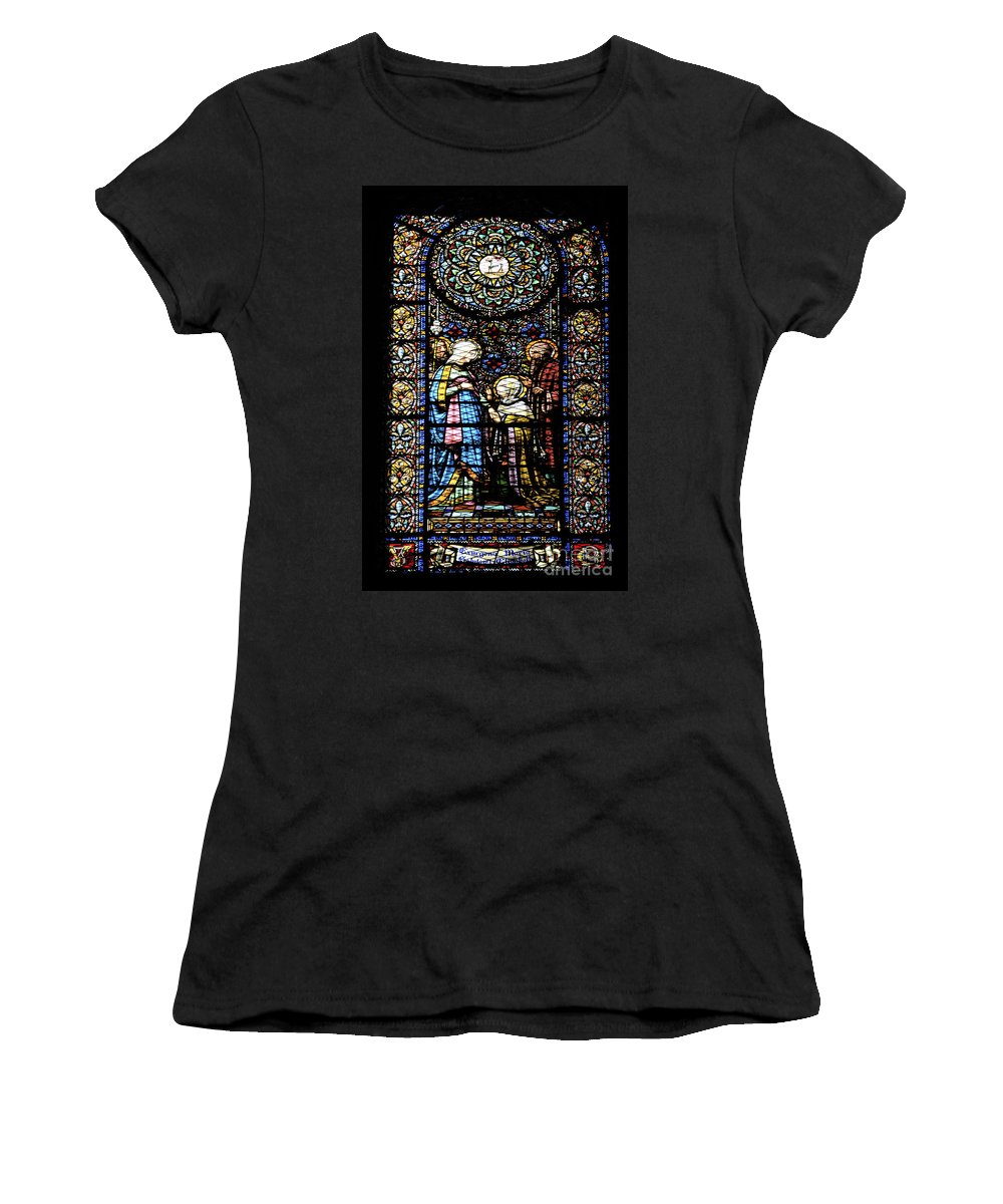 Religious Women's T-Shirt featuring the photograph Santa Maria De Montserrat Abbey 2 by Shay Levy