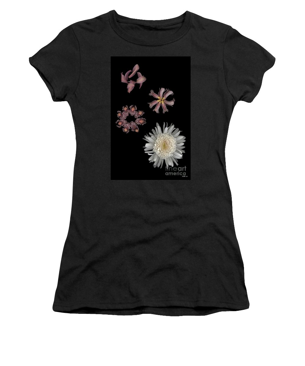 Women's T-Shirt (Athletic Fit) featuring the photograph Sea Anemone by Heather Kirk