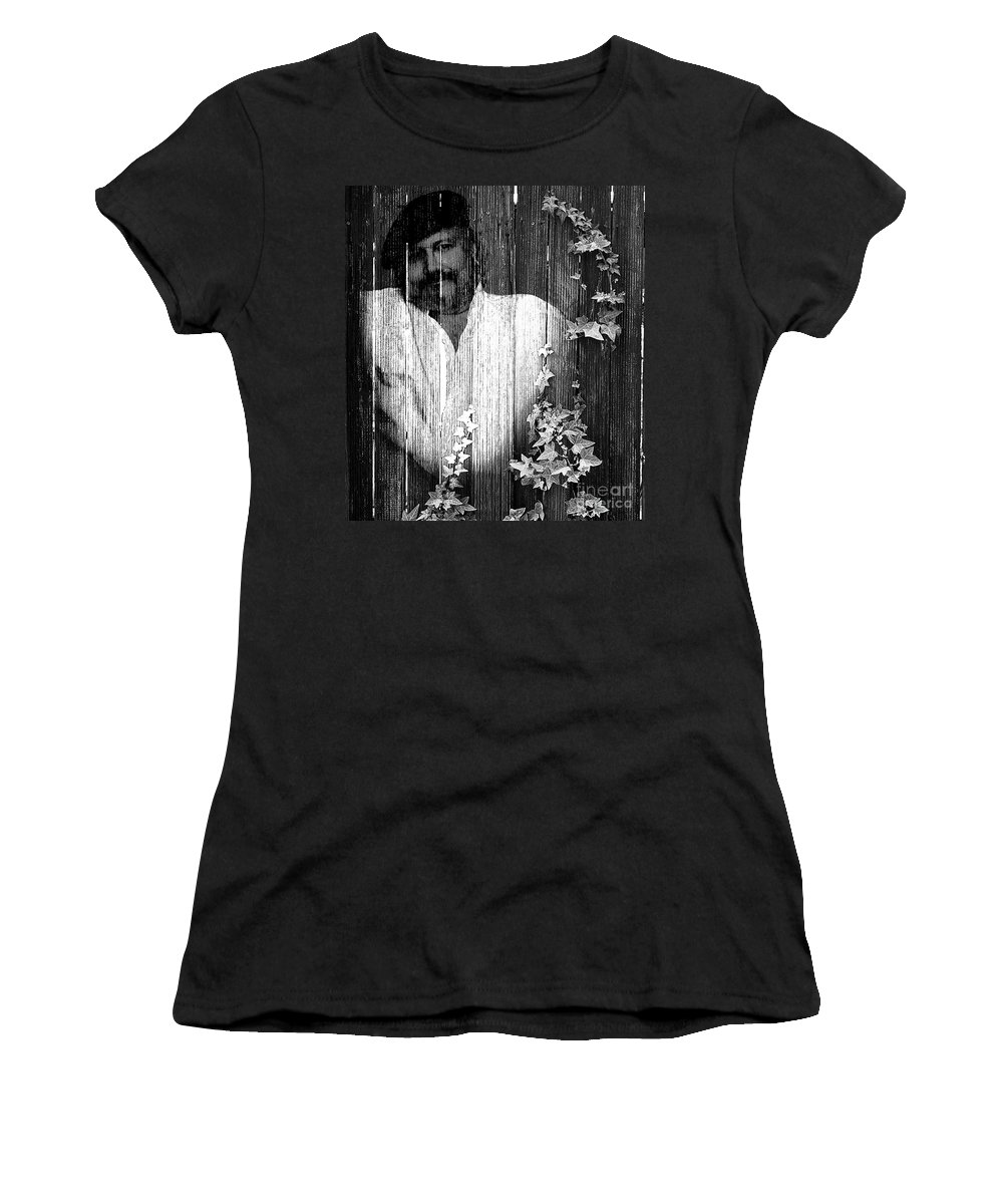 Clay Women's T-Shirt (Athletic Fit) featuring the photograph Self Portrait by Clayton Bruster
