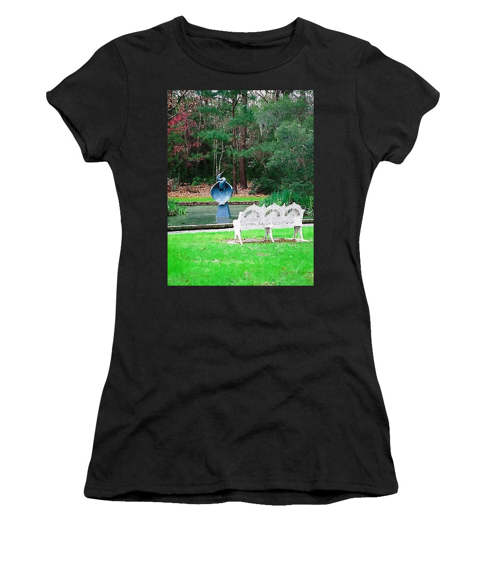 Women's T-Shirt (Athletic Fit) featuring the photograph Serene by Donna Bentley