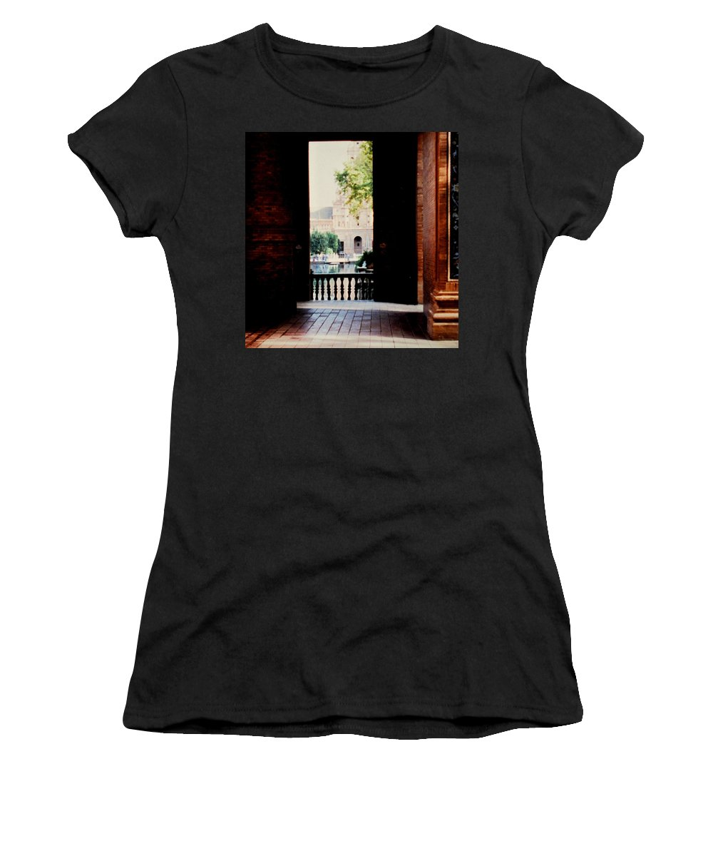 Seville Women's T-Shirt (Athletic Fit) featuring the photograph Seville by Ian MacDonald