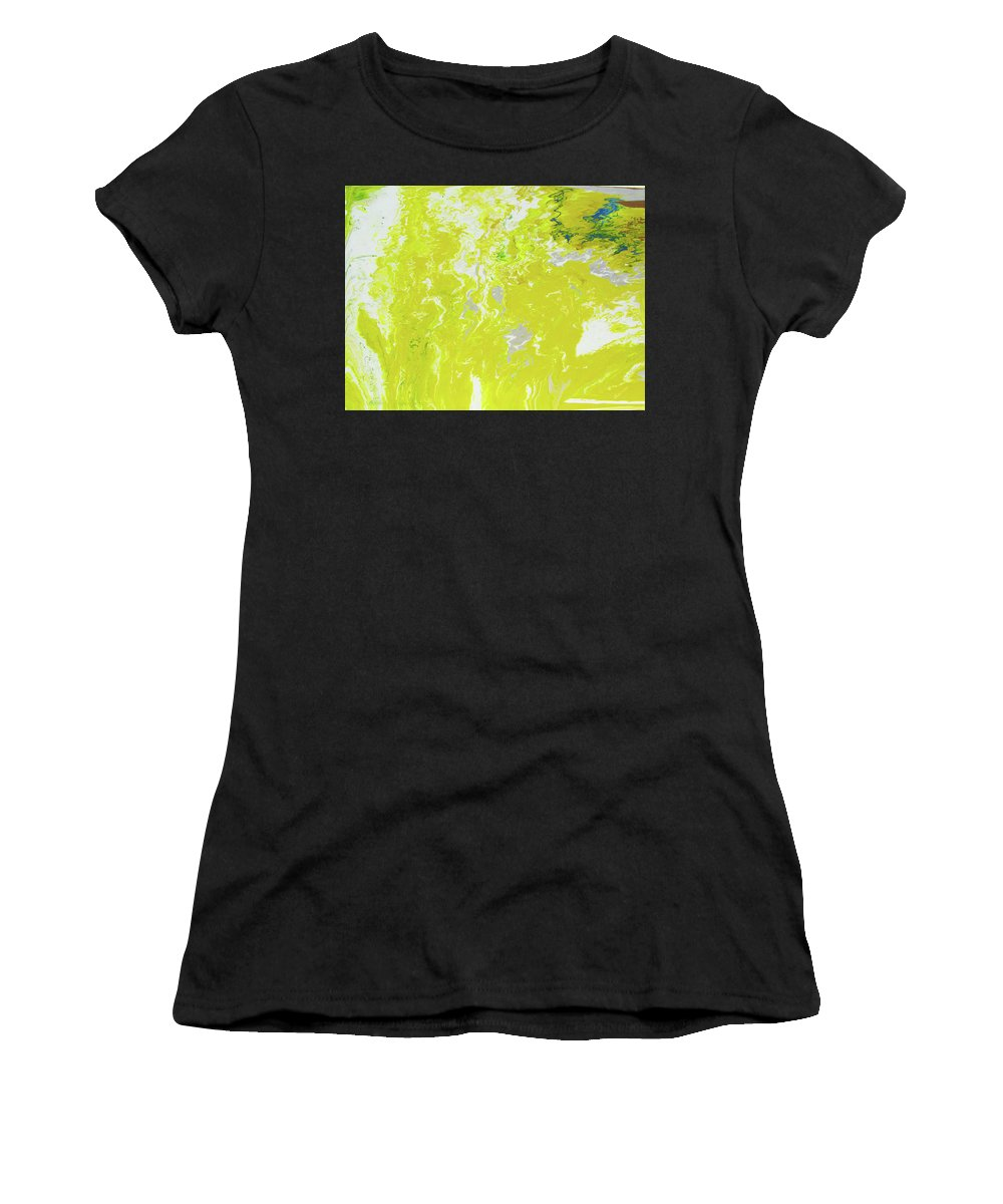 Fusionart Women's T-Shirt featuring the painting Shine by Ralph White