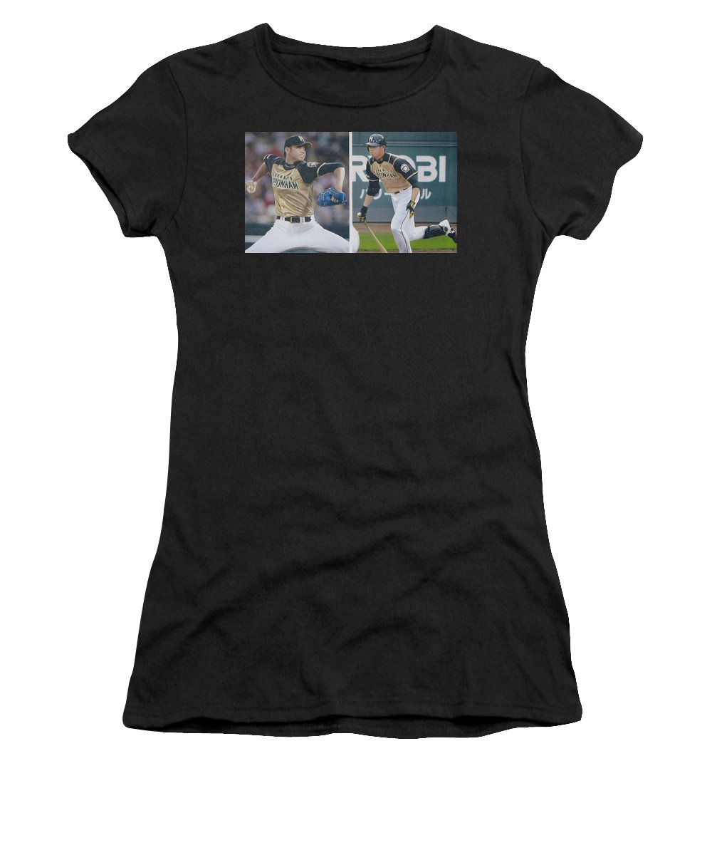 promo code f491e 96343 Shohei Ohtani Japan Basball Player Women's T-Shirt