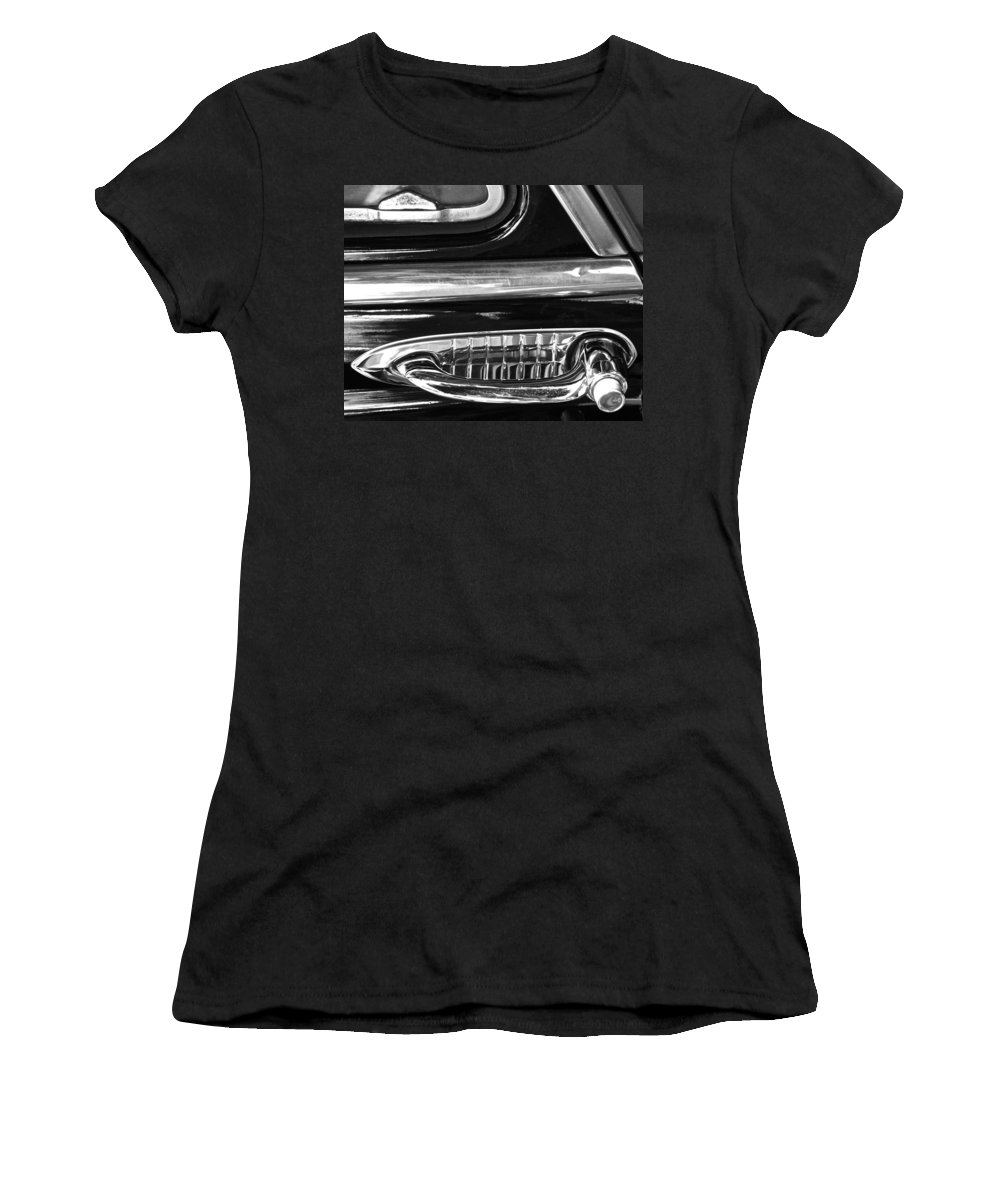 Photograph Women's T-Shirt (Athletic Fit) featuring the photograph Showing Age by Gwyn Newcombe