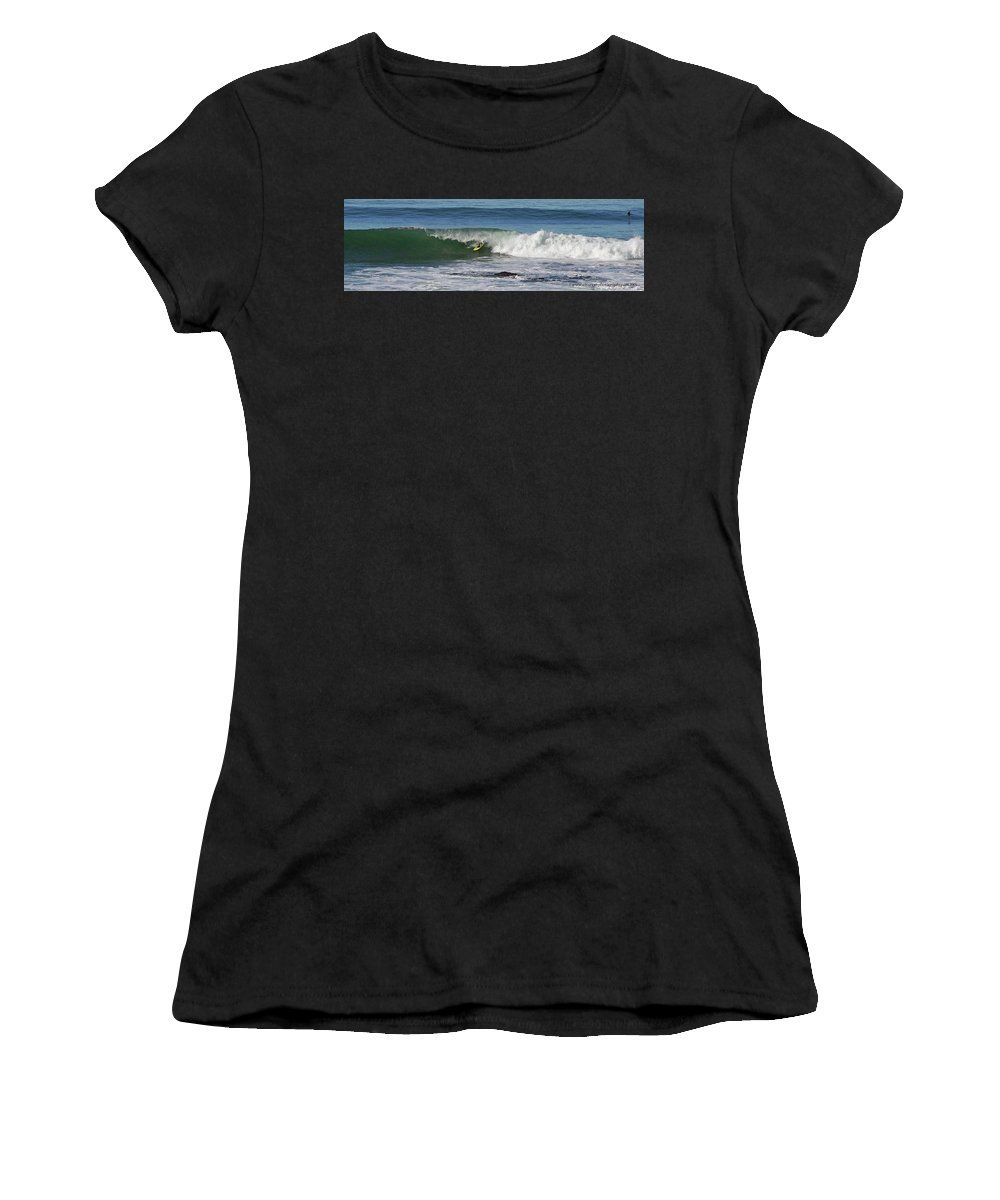 Simmons Women's T-Shirt featuring the photograph Simmons . La Jolla by Brian Wissinger