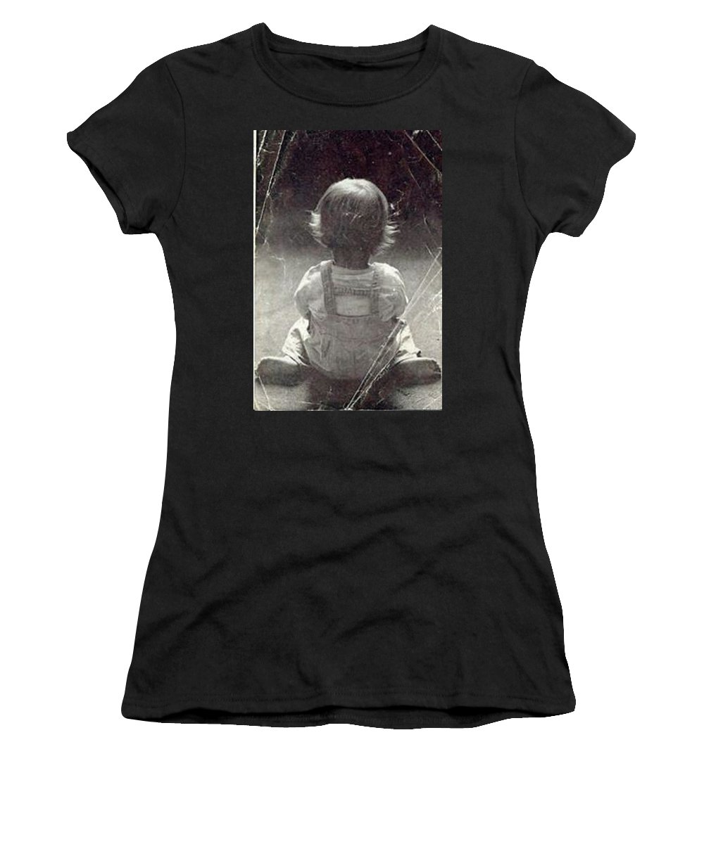 Baby Women's T-Shirt featuring the photograph Small Reflections by Elizabeth Stubblefield