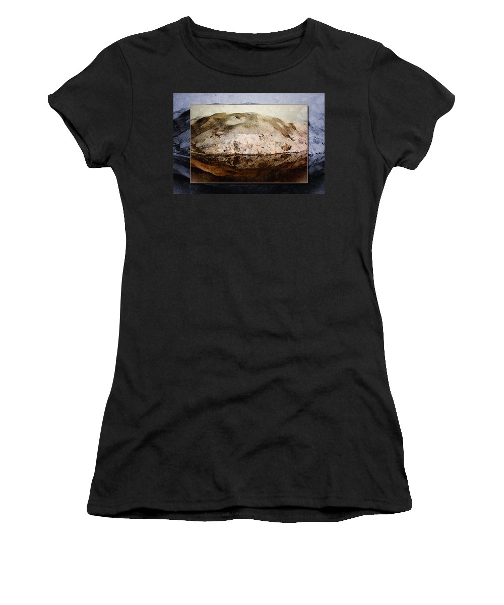 Snow Women's T-Shirt featuring the photograph Snowflection by WB Johnston