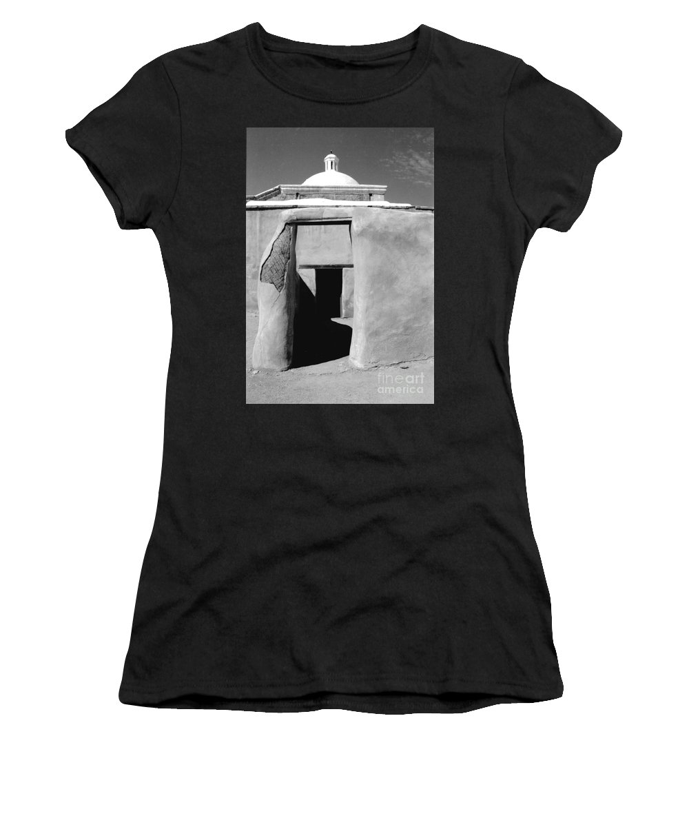 Shadows Women's T-Shirt (Athletic Fit) featuring the photograph Sol Y Sombra by Kathy McClure