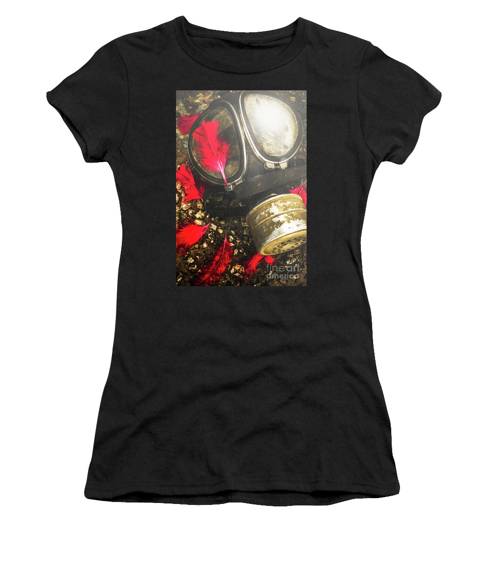 Gas Women's T-Shirt featuring the photograph Soldiers Of The Fallen by Jorgo Photography - Wall Art Gallery
