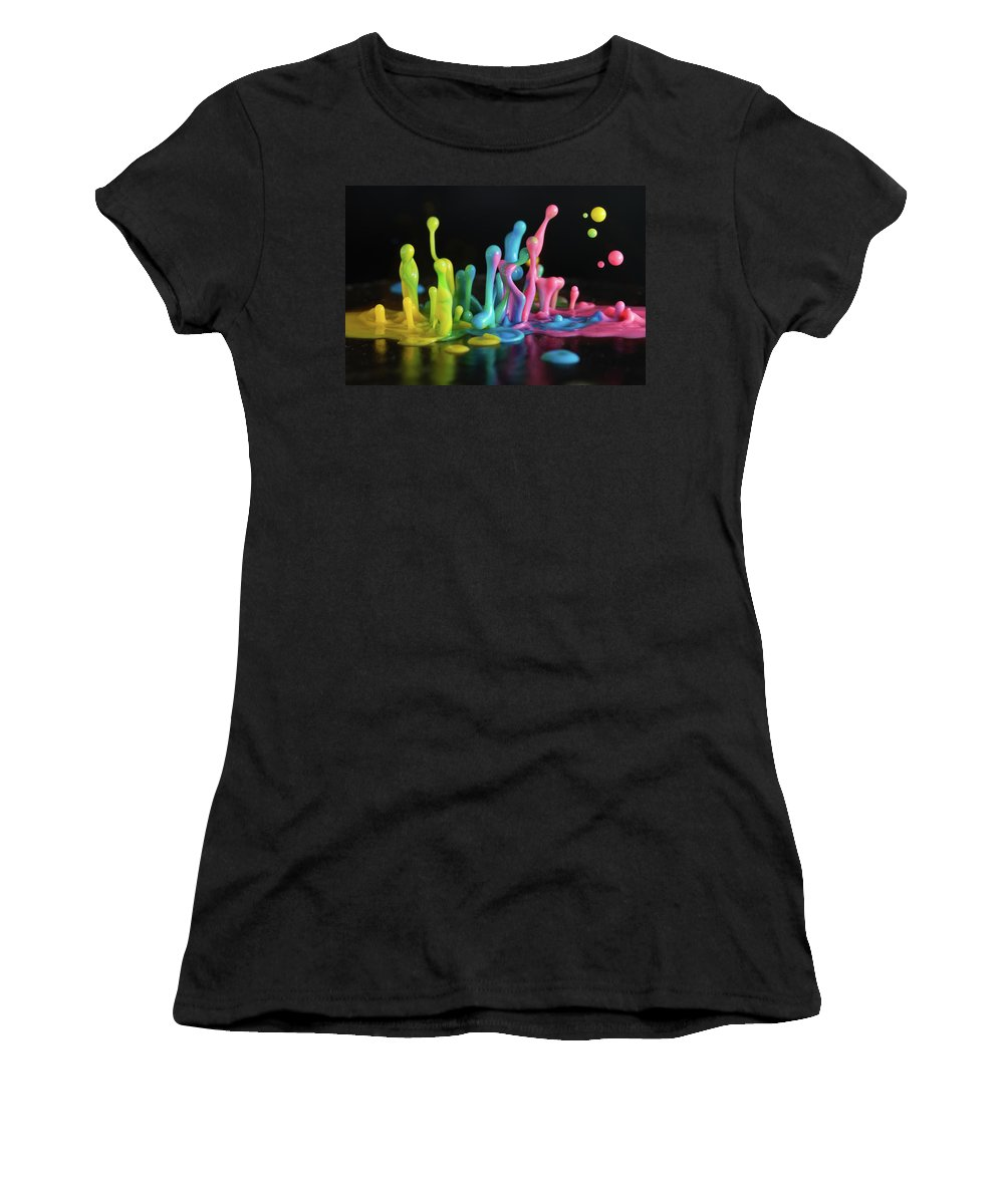 Sound Women's T-Shirt (Athletic Fit) featuring the photograph Sound Sculpture by William Freebilly photography