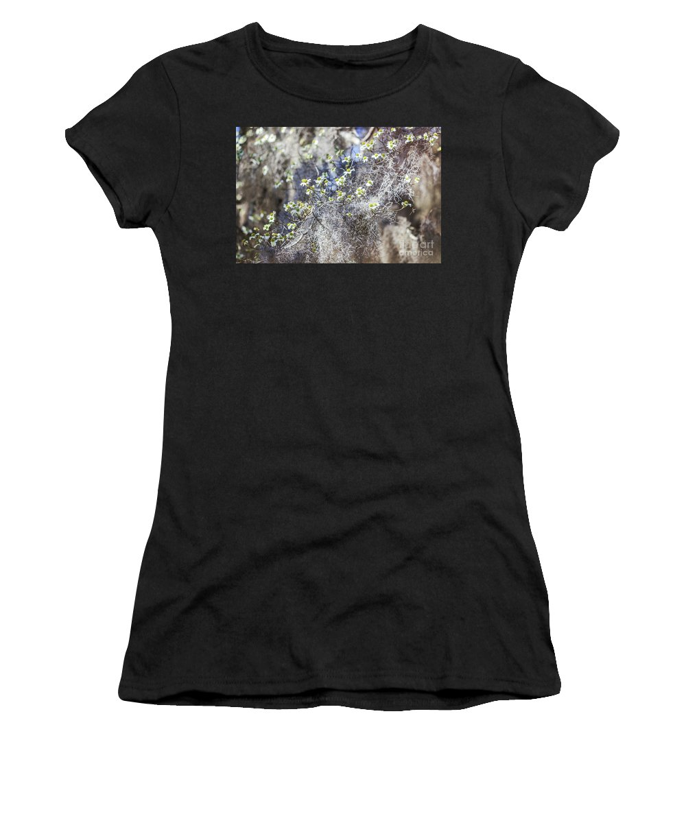 Dogwood Women's T-Shirt (Athletic Fit) featuring the photograph Southern Visions by Joan McCool