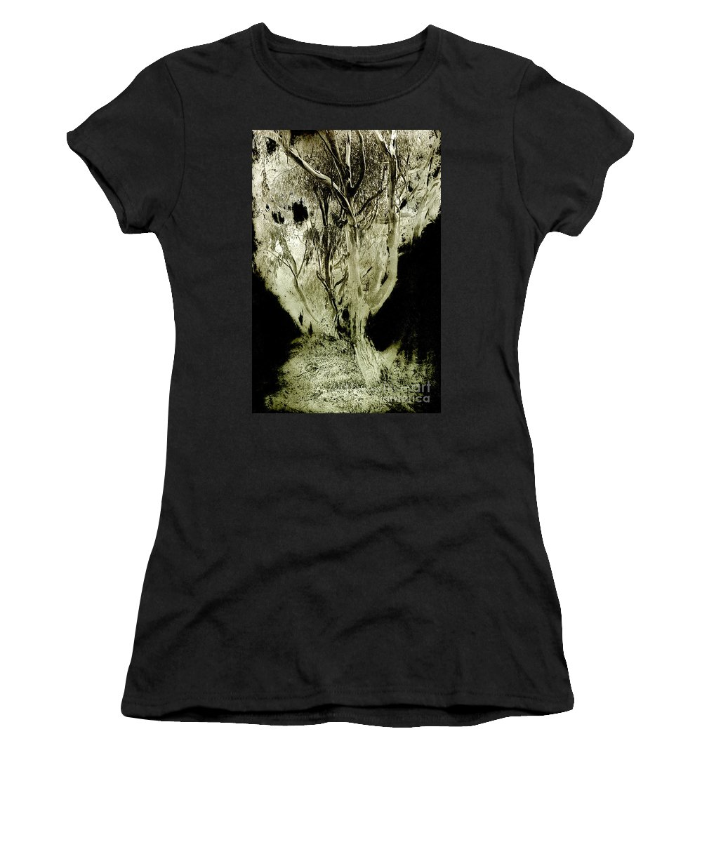 Abstract Women's T-Shirt (Athletic Fit) featuring the photograph Spirit Tree by Paul W Faust - Impressions of Light
