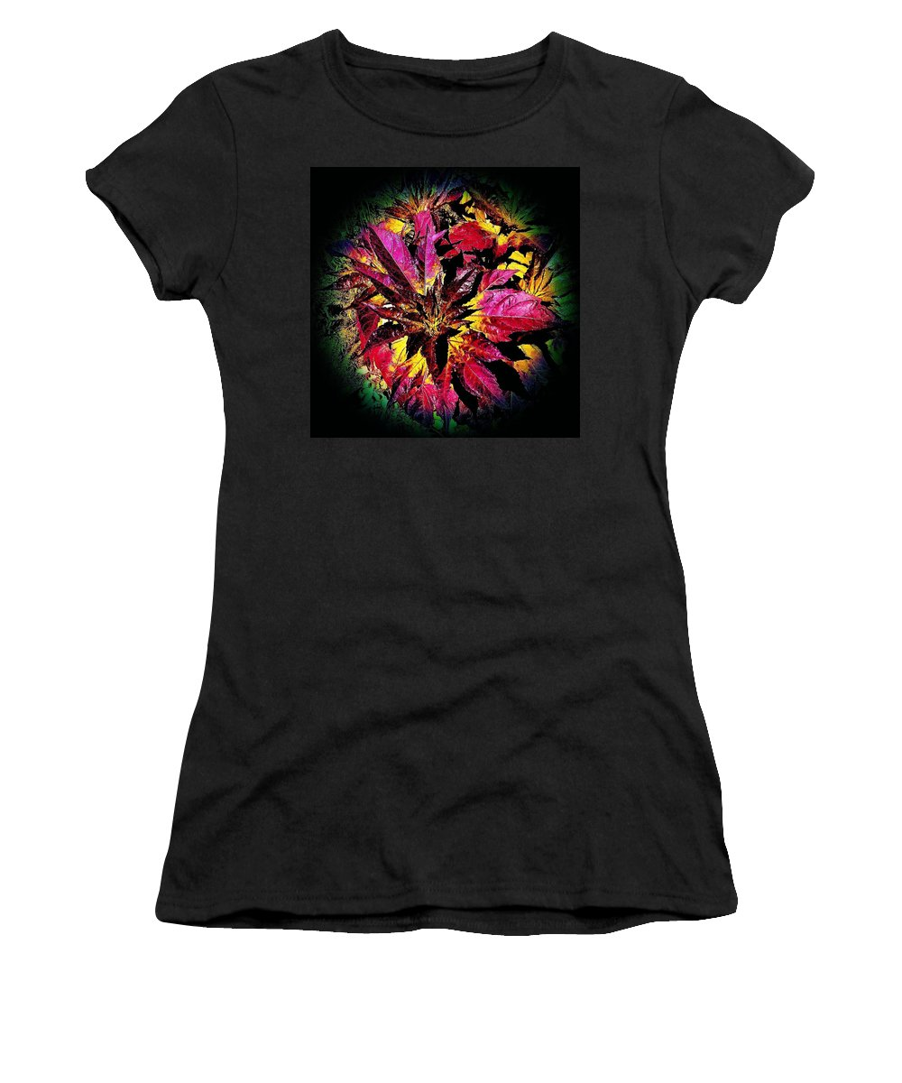 Nature Women's T-Shirt (Athletic Fit) featuring the photograph Splash by Jacob O'Neill